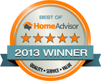 Valu-Rite Plumbing of Woodstock Ga has won the Best of HomeAdvisor award for 2013