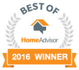 Valu-Rite Plumbing of Dunwoody Ga has won the Best of HomeAdvisor award for 2016