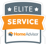 Valu-Rite Plumbing of Acworth Ga has won the HomeAdvisor Elite Service Award