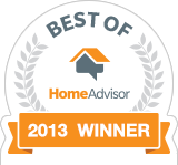 Valu-Rite Plumbing of Acworth Ga has won the Best of HomeAdvisor award for 2013