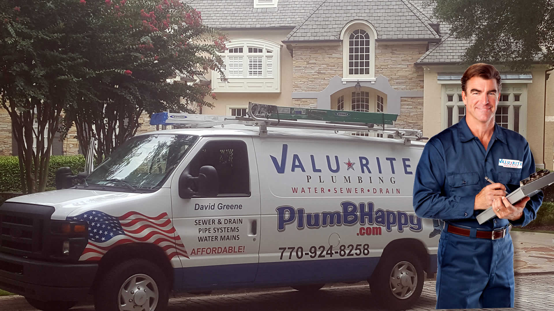A Reputable licensed and insured master plumber repair service with 34 years experience in Woodstock GA.