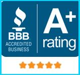 A+ Member of the Better Business Bureau
