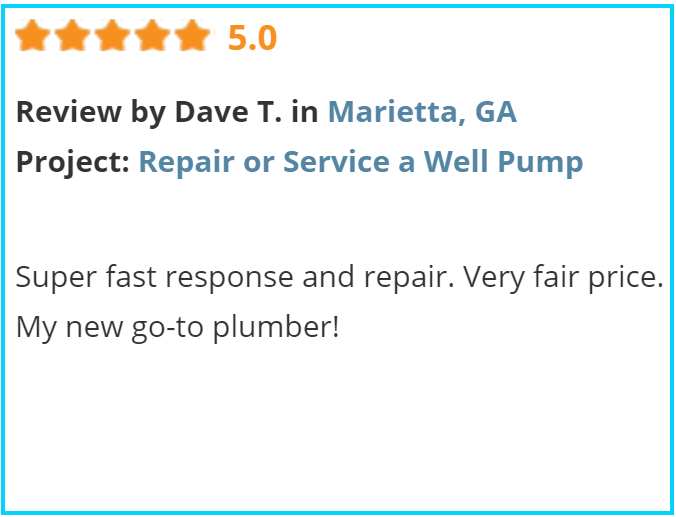 Valu-Rite Plumbing reviews Marietta Ga