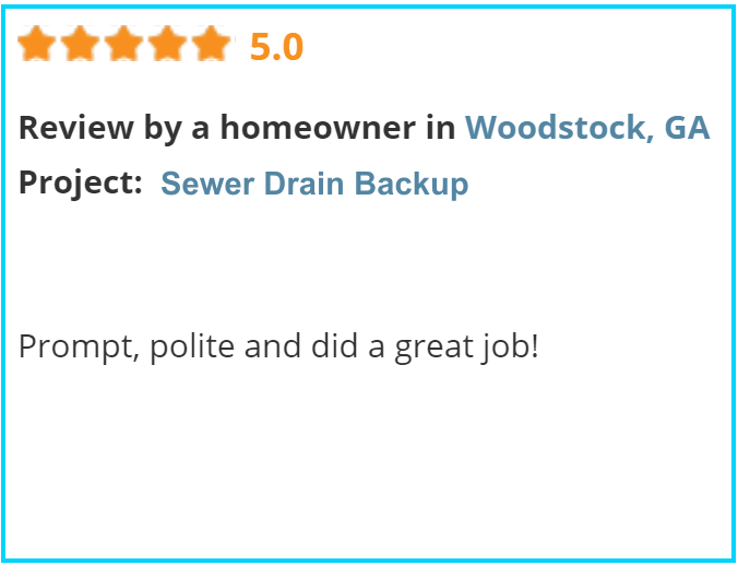 Valu-Rite Plumbing reviews Woodstock Ga